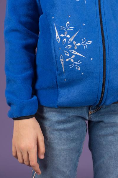 "Флисовая кофта ""SNOWFLAKE BLUE"""