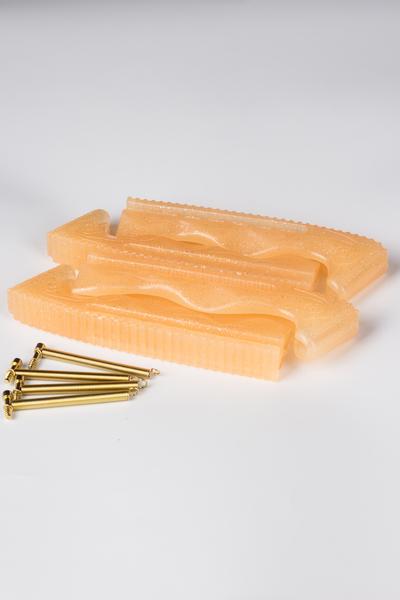"""Пластиковые чехлы с блёстками """"HARVEST GOLD"""""""